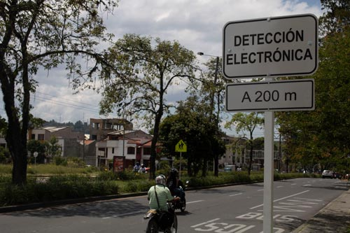 Secretario de Tránsito detalló fotodetecciones en Popayán