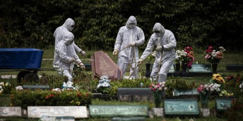 Reportan 136 nuevos muertos por covid-19