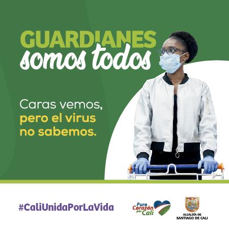 Campaña Prevención del Coronavirus en Cali