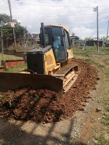 Durante la pandemia continúan obras de infraestructura en Quilichao