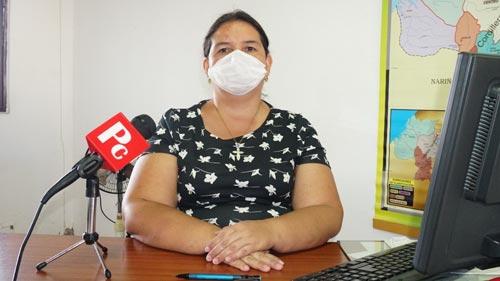 Paula Andrea Arce Escobar, secretaria de Infraestructura y Desarrollo