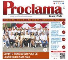 En circulación edición impresa No. 422 Proclama del Cauca y Valle