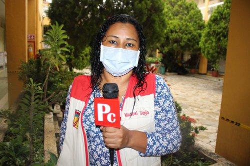 Maribell Guejia, presidenta Asociación Municipal de Juntas de Acción Comunal