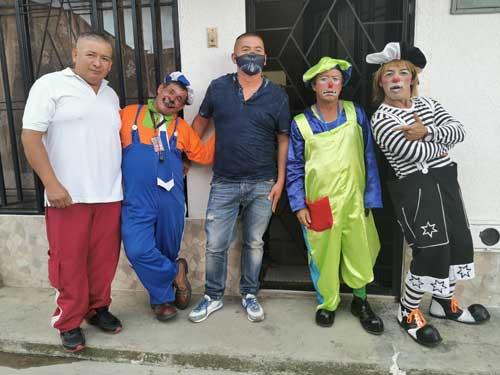 Payaneses fueron solidarios con los artistas circenses