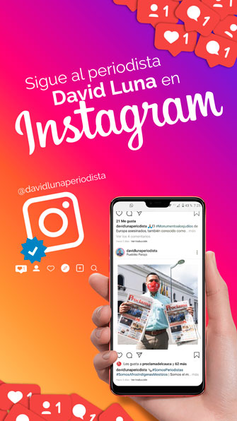 Sigue a David Luna en Instagram