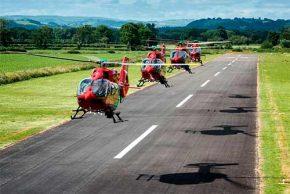 Colombia requiere una red de helicópteros ambulancia