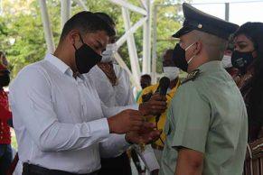 Villa Rica rindió homenaje a los héroes caídos en batalla