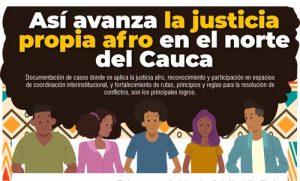 Así avanza la justicia propia afro en el norte del Cauca