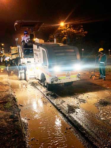 Avanzan las obras viales en la ciudad