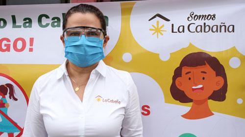 Luz Stella Porras, líder del área de Bienestar Social del Ingenio La Cabaña