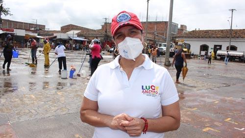 Lucy Amparo Guzmán González, alcaldesa municipal de Santander de Quilichao