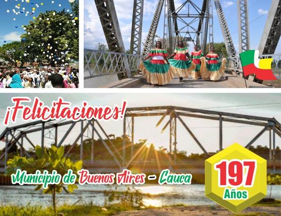 Felicitaciones al Municipio de Buenos Aires en sus 197 años