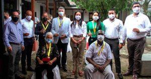 Entrega de reconocimientos Cruz del Samán en Quilichao