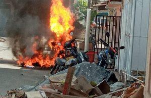 Esta tarde fue atacada estación de Policía de Corinto: un muerto.