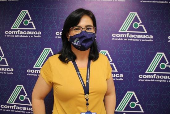 Gislena Jaramillo - Coordinadora Operativa Comfacauca - Sede Norte