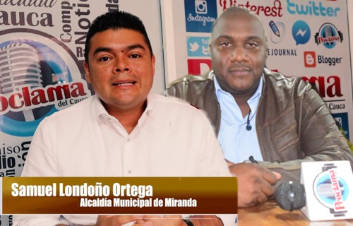 Samuel Londoño y Oscar Angola