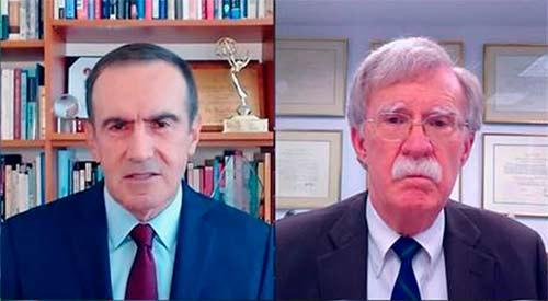 Escenario. Oppenheimer entrevista a John Bolton en CNN en español