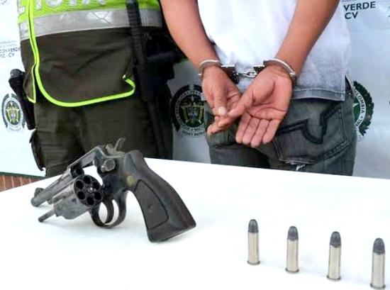 A la cárcel por porte ilegal de armas en Santander de Quilichao