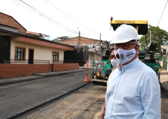 Avanza programa de mantenimiento vial en Popayán