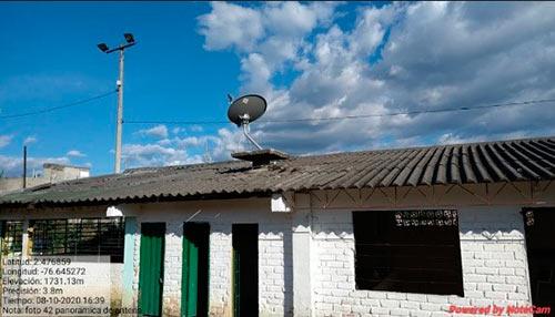 Instalación de la Zona Digital en Julumito Alto