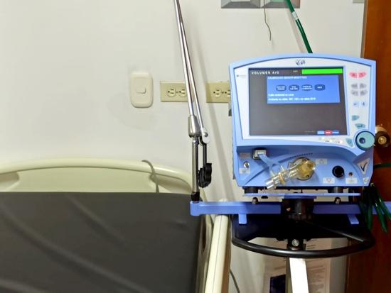 El Cauca recibió 30 ventiladores para tratar pacientes Covid 19