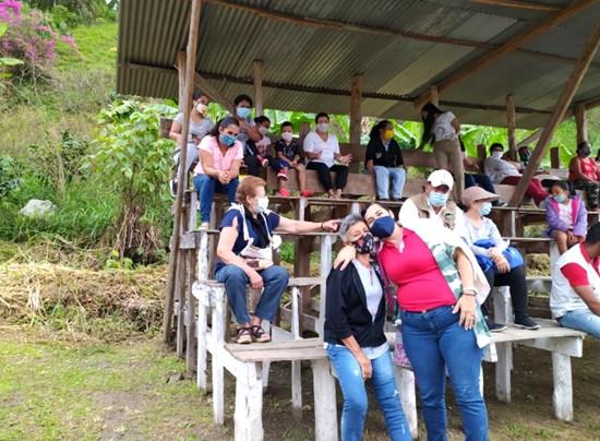 En Corinto se priorizan obras para comunidades del sector rural - Martha Velasco - alcaldesa.