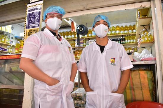 Entregan kits de bioseguridad a vendedores de la Galería en Quilichao