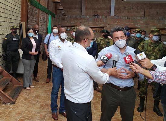 Evalúan estrategias para fortalecer seguridad en el Cauca