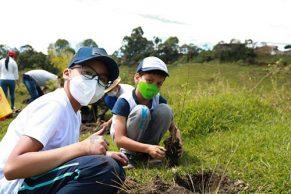 Niños de la Comuna Nueve comprometidos con el medio ambiente