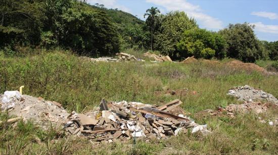 Inconciencia en Quilichao está creando un basurero.