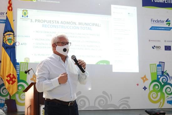 Juan Carlos López Castrillón, alcalde de Popayán
