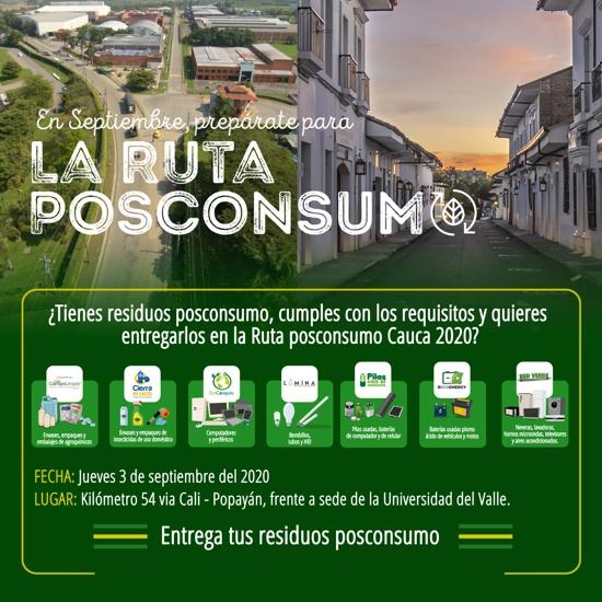 Ruta PosConsumo en Santander de Quilichao - Cámara de Comercio del Cauca