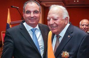 Aurelio Iragorri fue diagnosticado con Covid-19