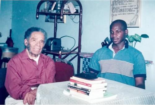 Manuel Zapata Olivella y William Mina