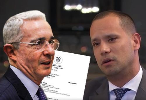 Álvaro Uribe y Diego Cadena / Las2Orillas.