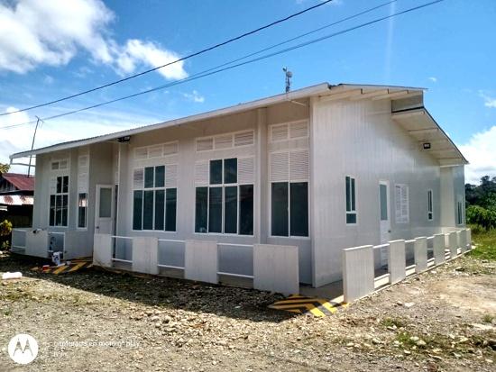 Puesto de salud de Cheté, en Timbiquí