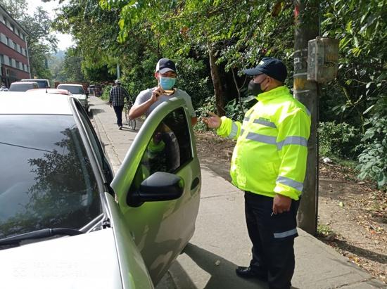 Secretaría de Tránsito realizó operativo de seguridad vial en el Modelo