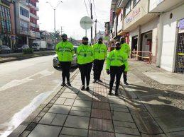 Secretaría de Tránsito realiza labores de sensibilización sobre uso del espacio público
