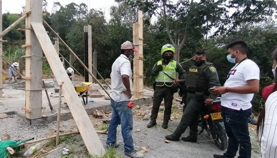 Visitas de control y seguimiento a predios y construcciones en Popayán