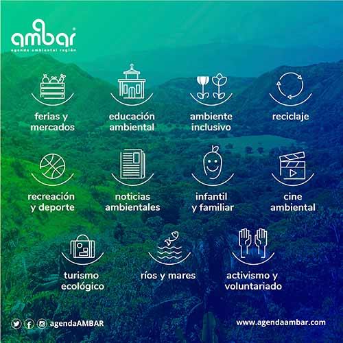 LANZAMIENTO APLICATIVO WEB AGENDA AMBAR, NODO DE INICIATIVAS AMBIENTALES NACIONALES