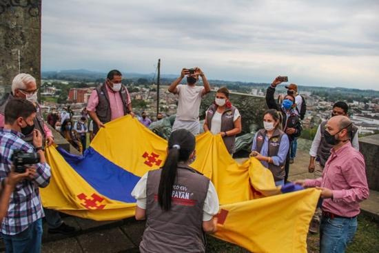 Alcalde de Popayán repudió acto violento contra patrimonio de la ciudad