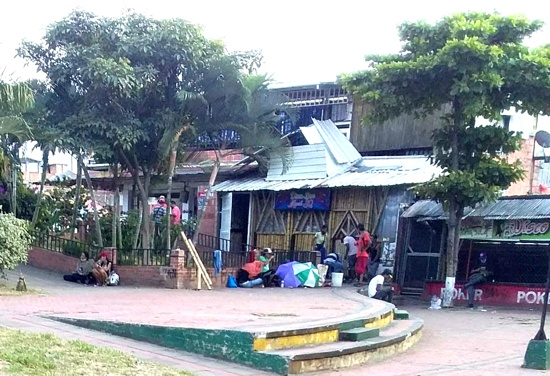 Alerta de inseguridad en Quilichao - Plazoleta Centro Comercial La Estación
