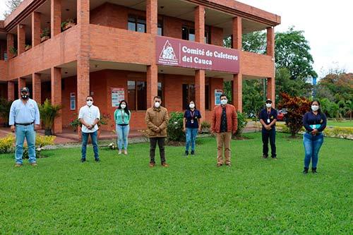 Comité de Cafeteros del Cauca y Alcaldía de Popayán, socializaron avances del proyecto de Caficultura Familiar en el municipio