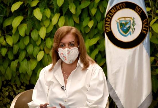 Clara Luz Roldán - Gobernadora del Valle del Cauca
