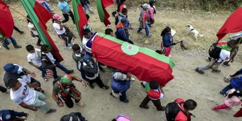 En el Cauca el genocidio indígena no se detiene