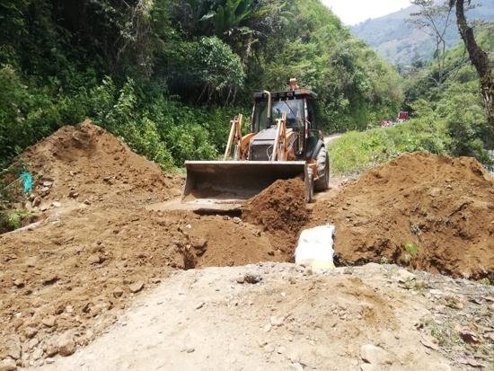 En marcha mejoramiento del corredor vial Corinto – Toribío