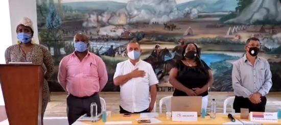 Encuentro interinstitucional de alcaldes se realizó en Caloto