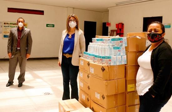 Entregan elementos de protección personal en salud a integrantes del CRIC