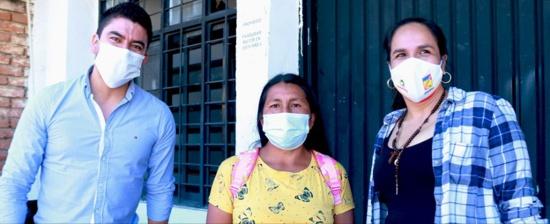 Entregan insumos a familias cafeteras en Santander de Quilichao - Lucy Amparo Guzmán - Yesid Paz Castro