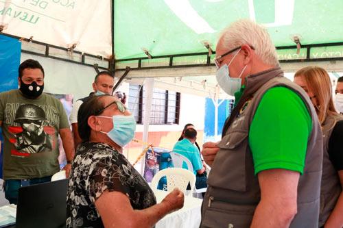 Alcaldía de Popayán presente en las comunidades